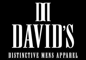 David's distinctive mens apparel logo